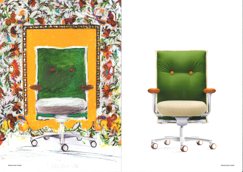 Brasilian chair raumgestaltung l ck for Raumgestaltung 2016